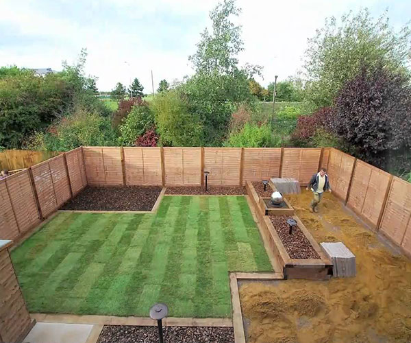 Renovation of Garden